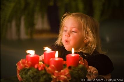 Schutz vor Bränden in der Adventszeit