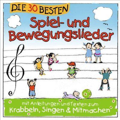Die Musik-CD mit vielen Spiel- und Bewegungsliedern
