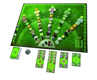 Keltis - Spiel des Jahres 2008 Brett