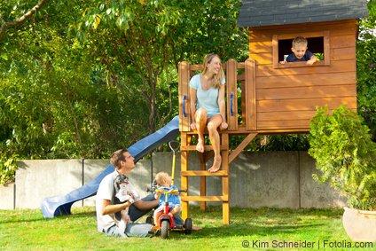 Kinder-Spielhaus für den Garten