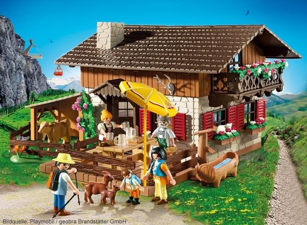 Playmobil Thema Große Bergwelt Kinderpilot De