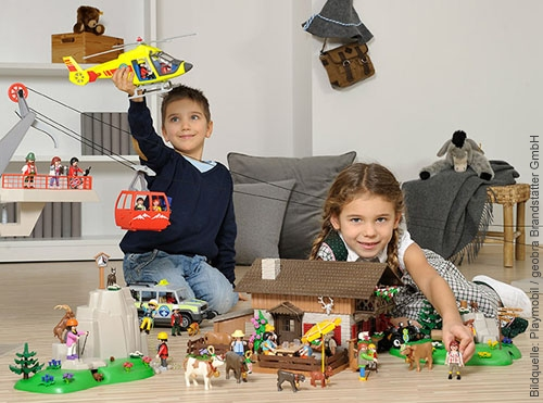 Grosse Bergwelt von Playmobil
