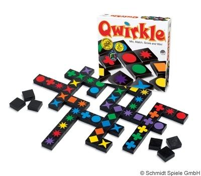 Das Spiel des Jahres 2011 ist Qwirkle.