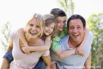 Gute Vorsorge für Familien, die Risikolebensversicherung
