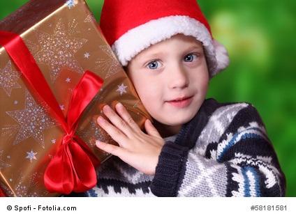 Weihnachtsgeschenke für Kinder finden